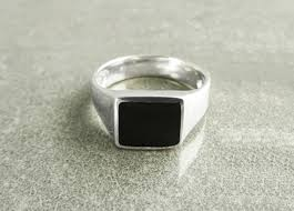 square silver rings images Men rings signet ring kramike jpg