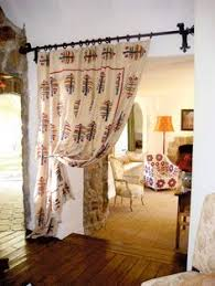Curtain Room Divider Ideas by For Doorway To Upstairs Do With Two Different Sides Quilting