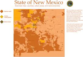Hobbs New Mexico Map by New Mexico Land Ownership And Population