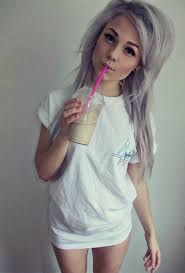 gray hair fad new strange trend among girls wow gallery ebaum s world