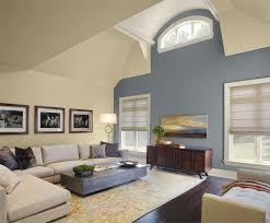 wood accent wall ideas grey linen modern sleeper sofa glass panel