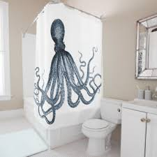Octopus Bathroom Accessories by Octopus Shower Curtains Zazzle
