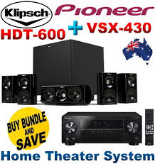 subwoofer amplifier home theater new klipsch hdt 600 home theater system pioneer vsx 430 5 1