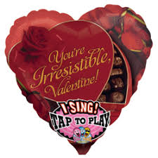 singing balloons delivery 29 74 cm singing balloon you irresistible buy helium