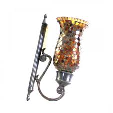 Mosaic Wall Sconce Bombay Co Brown Mosaic Wall Candlestick Holder Just For You
