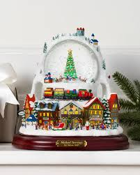 michael storrings animated winter snow globe balsam hill