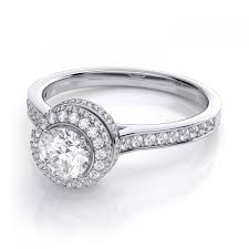 circle engagement ring with halo halo cut engagement rings new wedding ideas trends