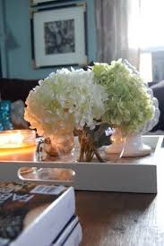 coffee table floral arrangements decked styled spring house tour silk flowers flower