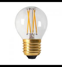 Wohnzimmer Lampe E27 Kleine Glühbirne Led 4w E27 Transparentes Glas Warmweiß