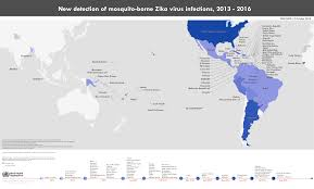 Trinidad On World Map by Who Zika Situation Report