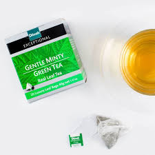 gentle minty green 120 tea bags flavoured tea dilmah global