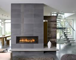 simple design agreeable river rock stone fireplace pictures