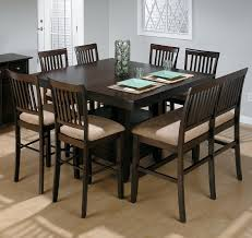 Stunning Dining Room Table Sets With Leaf Ideas Room Design - Countertop dining room sets