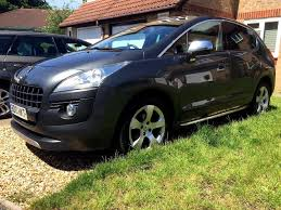 peugeot car range 2010 peugeot 3008 exclusive top of the range family mpv in