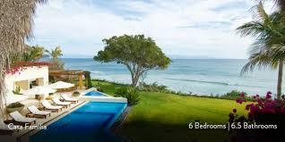 casa familia beachfront villa punta mita rental services casa