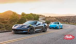 porsche 911 vs corvette chevrolet corvette grand sport vs 2017 porsche 911 s