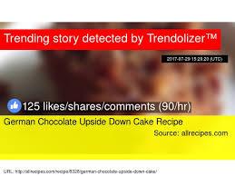 german chocolate upside down cake recipe