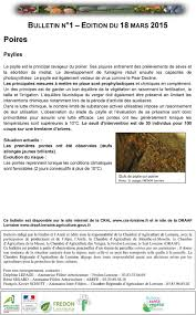 chambre d agriculture lorraine bulletin de santé du végétal pdf