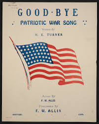 Flag Day Songs Notated Music Pdf Library Of Congress