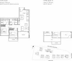 the glades condo floor plan u2013 2br suite u2013 b10 u2013 65 sqm 700 sqft