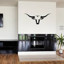 Modern Wall Stickers For Living Room Online Get Cheap Bull Wall Decal Aliexpress Com Alibaba Group