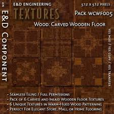 second marketplace wcwf005 6 carved wood floor