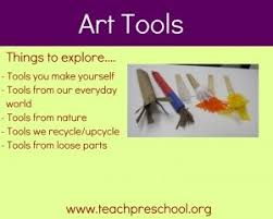 18 best art tools for playful learning images on pinterest