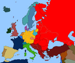 Map Of Europe Political by Map Of Europe 1947 By Tiltschmaster On Deviantart