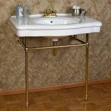 Bathroom Sink Console Table Bathroom Single Sink Console Marble Sink Console Console Sink