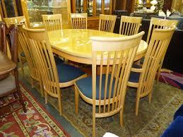 luxury giorgio italian dining table with 10 chairs marva u0027s