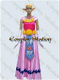 Princess Zelda Halloween Costume Legend Zelda Cosplay Princess Zelda Costume Legend