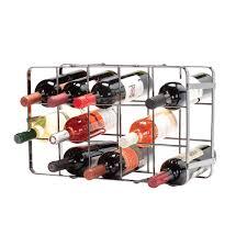 black pearl 15 bottle folding wine rack