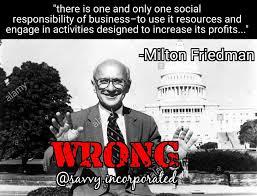 Milton Meme - love thy neighbor capitalism savvy inc economic consultants