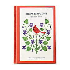birds and blooms of the 50 states state birds and flowers