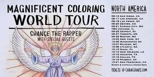 chance the rapper announces magnificent coloring