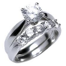 womens wedding ring sets arizona 2 1ct on russian cz womens wedding ring set
