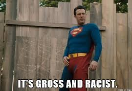 Its Friday Gross Meme - it s gross and racist ben affleck meme on imgur