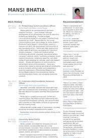Compliance Officer Resume Sample by Hr Resume Samples Visualcv Resume Samples Database