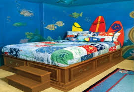 Ocean Themed Kids Room underwater themed bedroom ideas hesen sherif living room site