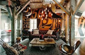 style house canapé comment intégrer la table basse style industriel dans le salon