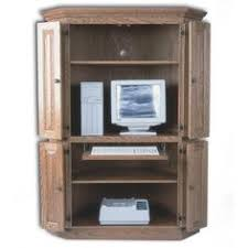 computer armoire with pull out desk corner tv cabinet and hutch with pull out drawer for laptop da