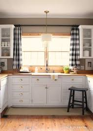 ideas for kitchen window curtains the black and white buffalo check curtains colors black