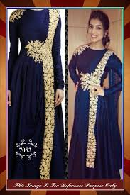 latest party wear indian dresses