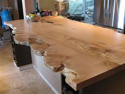 bar top sealant finishing a live edge slab suggestions to achieve certain finish