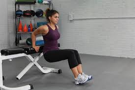 Triceps Bench Dips Triceps Exercises Body Weight Bench Dips Vs Dumbbell Triceps