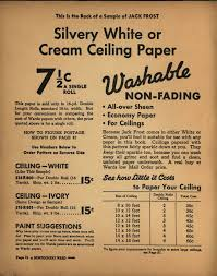 Washable Ceiling Paint by 17 Best Images About H 1930s 1940s Wallpapers I Like On Pinterest