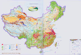 China Population Density Map by China Land Cover Map