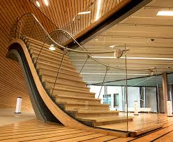 furniture stunning modern wooden staircase designs cute