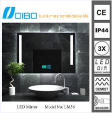 Radio Bathroom Mirror by Touch Screen Bathroom Mirror With Dab Function Buy Led Clock