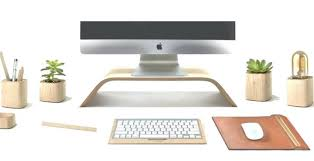 Diy Wooden Desktop by Desk Wood Desk Accessories And Organizers Victor Wood Desk